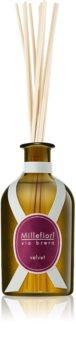 Millefiori Via Brera Velvet aroma Diffuser met navulling 250 ml