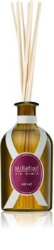Millefiori Via Brera Velvet diffuseur d'huiles essentielles avec recharge 250 ml