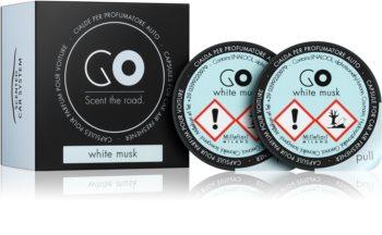 Millefiori GO White Musk Car Air Freshener 2 pc Refill