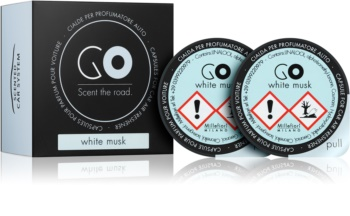 Millefiori GO White Musk Car Air Freshener 2 pc Refill