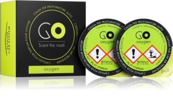 Millefiori GO Oxygen vůně do auta 2 ks náhradní náplň