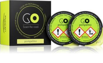 Millefiori GO Pompelmo parfum pentru masina 2 buc Refil