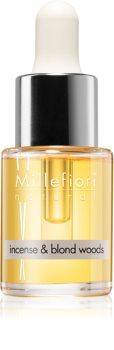 Millefiori Natural Incense & Blond Woods olejek zapachowy 15 ml