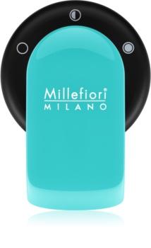 Millefiori GO suport auto pentru miros   cu rezervã Acquamarina (Sandalo Bergamotto)