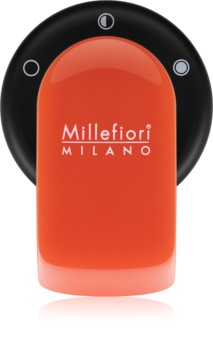 Millefiori GO Scentportable Holder for Car   With Refill Arancione (Sandalo Bergamotto)