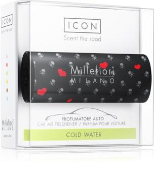 Millefiori Icon Cold Water parfum pentru masina   Cuori & Fuori