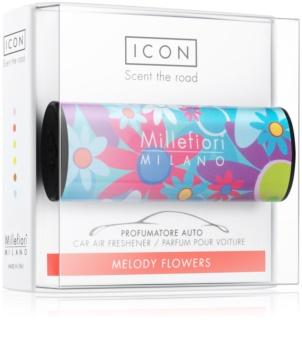 Millefiori Icon Melody Flowers illat autóba   Cuori & Fuori
