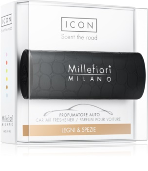 Millefiori Icon Legni & Spezie Car Air Freshener   Urban