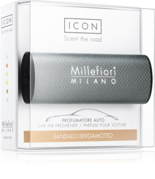 Millefiori Icon Sandalo Bergamotto Car Air Freshener   Urban