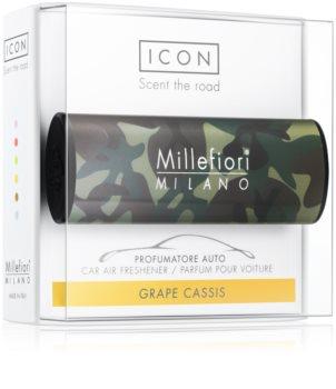 Millefiori Icon Grape Cassis vůně do auta   Animalier