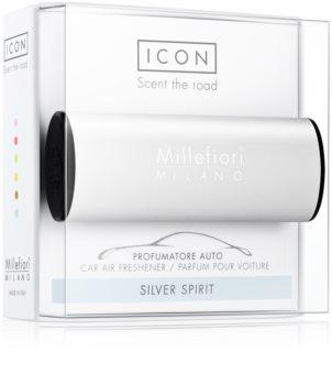 Millefiori Icon Silver Spirit ambientador de coche para ventilación   Classic