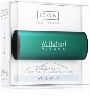 Millefiori Icon White Musk ambientador de coche para ventilación   Classic