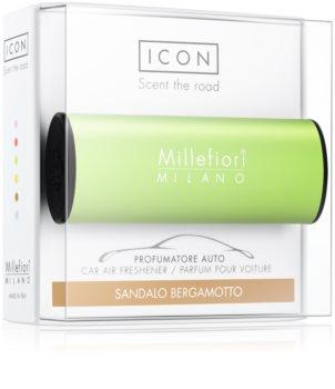 Millefiori Icon Sandalo Bergamotto odświeżacz do samochodu   Classic