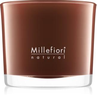 Millefiori Natural Vanilla and Wood vonná svíčka 180 g