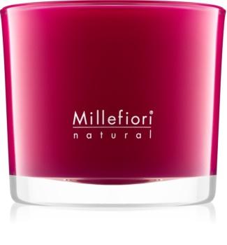 Millefiori Natural Grape Cassis ароматизована свічка  180 гр