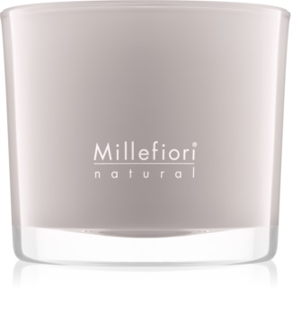 Millefiori Natural White Musk scented candle