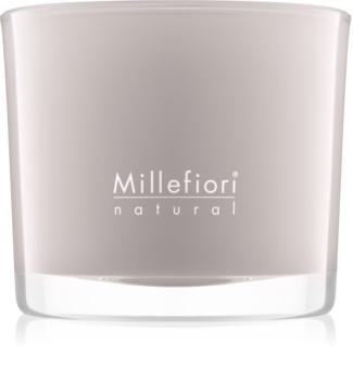 Millefiori Natural White Musk vonná sviečka 180 g