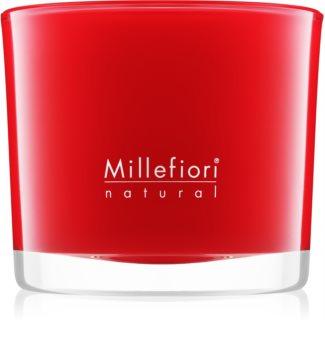 Millefiori Natural Mela & Cannella lumânare parfumată  180 g