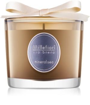 Millefiori Via Brera Mineral Sea Scented Candle 180 g