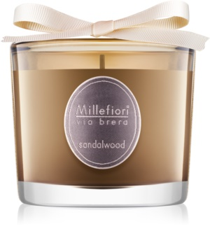 Millefiori Via Brera Sandalwood lumânare parfumată  180 g