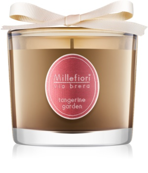 Millefiori Via Brera Tangerine Garden lumânare parfumată  180 g