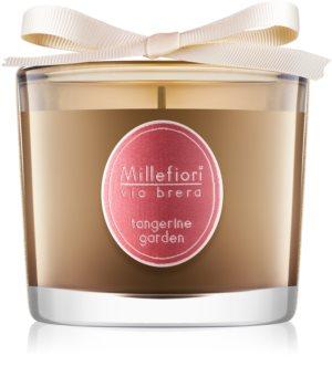 Millefiori Via Brera Tangerine Garden Scented Candle 180 g