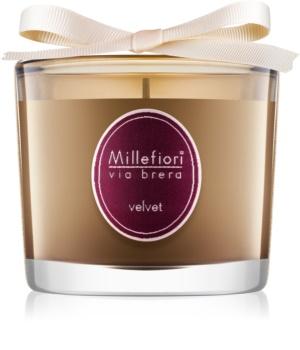Millefiori Via Brera Velvet vonná sviečka 180 g