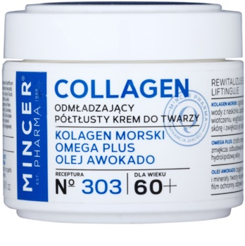 Mincer Pharma Collagen N° 300 creme rejuvenescedor 60+