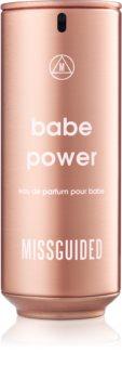 Missguided Babe Power eau de parfum para mulheres 80 ml