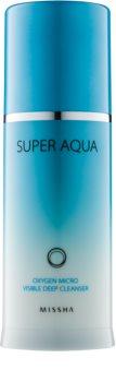 Missha Super Aqua Oxygen emulsión limpiadora con burbujas de oxígeno