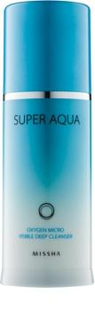 Missha Super Aqua Oxygen emulsje czyszczące z bąbelkami dotleniającymi