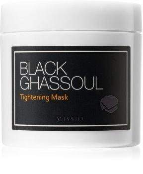 Missha Black Ghassoul maschera attivante per ridurre i pori