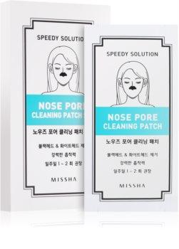 Missha Accessories čistiace pleťové náplasti na nos