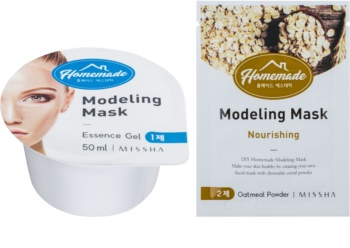 Missha Homemade Oatmeal Powder preoblikovalna maska za obraz s hranilnim učinkom