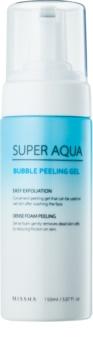 Missha Super Aqua Bubble Peeling Gel hydratační peeling