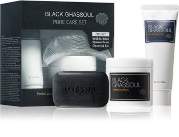 Missha Black Ghassoul coffret cosmétique I.