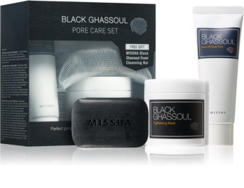 Missha Black Ghassoul Cosmetica Set  I.