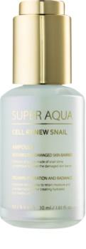 Missha Super Aqua Cell Renew Snail regeneracijski serum za obraz s polžjim ekstraktom