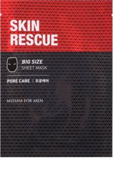 Missha For Men Skin Rescue mască cu efect de curățare pentru barbati