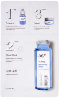 Missha 3-Step hydratační maska ve třech krocích