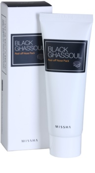 Missha Black Ghassoul Peel-Off Mask for Problematic Skin