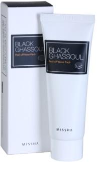 Missha Black Ghassoul zlupovacia čistiaca maska na problematickú pleť