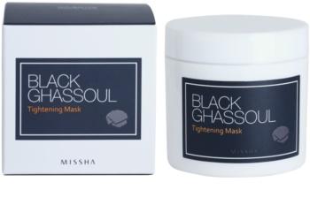 Missha Black Ghassoul straffende Maske zur Verkleinerung der Poren