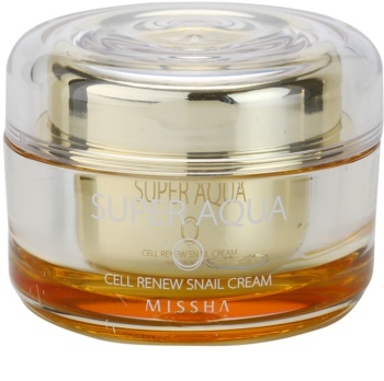 Missha Super Aqua Cell Renew Snail Nutritive Cream With Snail Extract