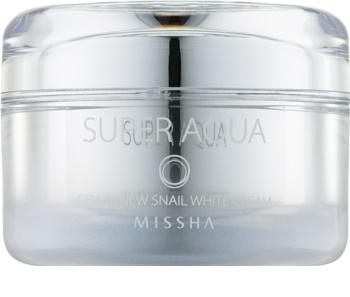 Missha Super Aqua Cell Renew Snail krema za posvetljevanje s polžjim ekstraktom