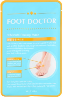 Missha Foot Doctor intenzivní peelingová maska na nohy