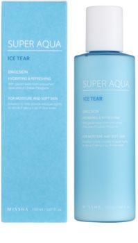 Missha Super Aqua Ice Tear hydratačná pleťová emulzia