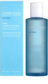 Missha Super Aqua Ice Tear hydratačné pleťové tonikum