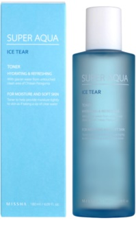 Missha Super Aqua Ice Tear tónico facial hidratante