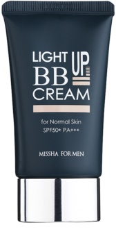 Missha For Men Light Up BB krém pre mužov SPF 50+
